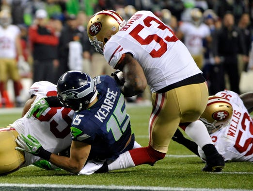 49ers ILB NaVorro Bowman: Tore left ACL and MCL on Jan. 19, 2014