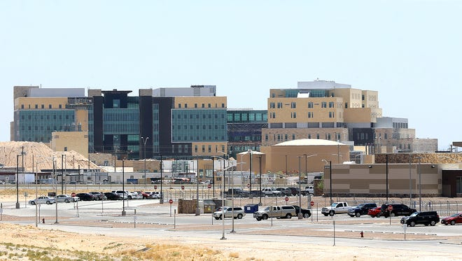 The new William Beaumont Medical Center is still under construction at Spur 601 and Loop 375 in East El Paso. It's projected to be completed in July 2019 -- about three years behind schedule.