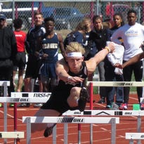 Pinckney's Brandon Wiese was a silver medalist in both the 100- and 300-meter hurdles at regionals on Friday.