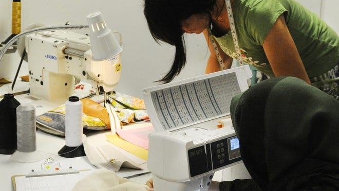 Better Life Bags in Hamtramck employs 15 women who otherwise may have found it difficult to find meaningful work.