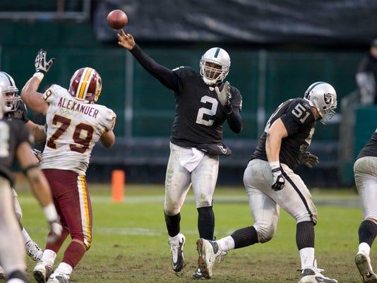 NFL: Washington Redskins at Oakland Raiders