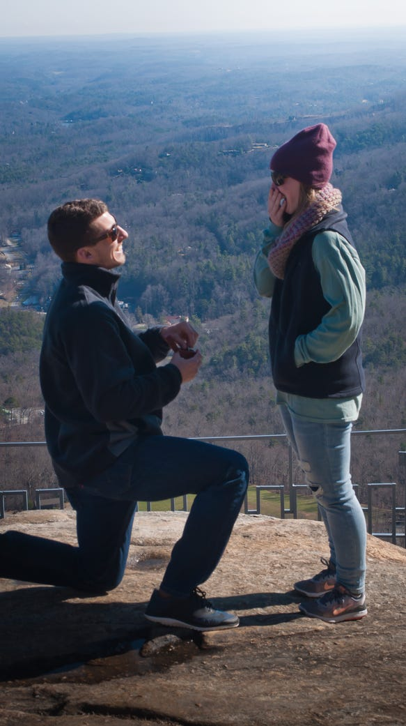 Chimney Rock State Park gets romantic this Valentine's