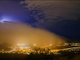 A dust storm covers Ahwatukee on the night of July