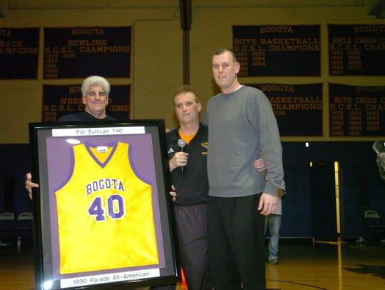 Pat Sullivan's jersey is retired in February 2006.
