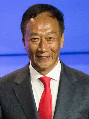 Foxconn Chairman Terry Gou
