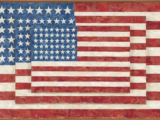SECONDARY JASPER JOHNS