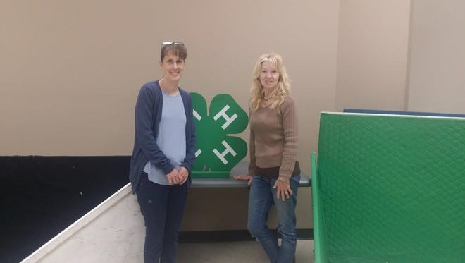 Jill Molas (left) and Patricia Mariano are the leaders of the organization's newest Cumberland County 4-H club, Alpacas at the Wheel. Interested in becoming a 4-H leader or volunteer? The next volunteer orientation will be held from 6:30 to 8 p.m. Aug. 8.