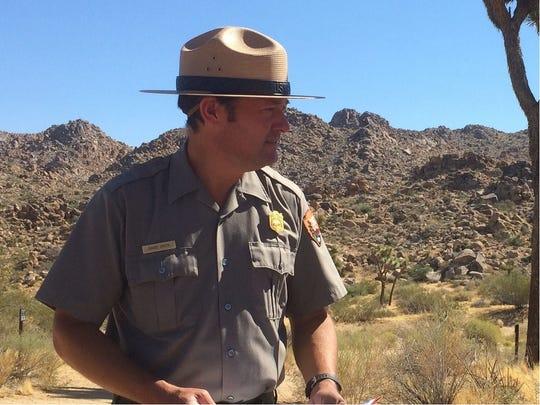 David Smith, Joshua Tree National Park superintendent