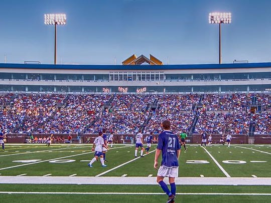 Chattanooga FC had 18,000 fans in attendance at last