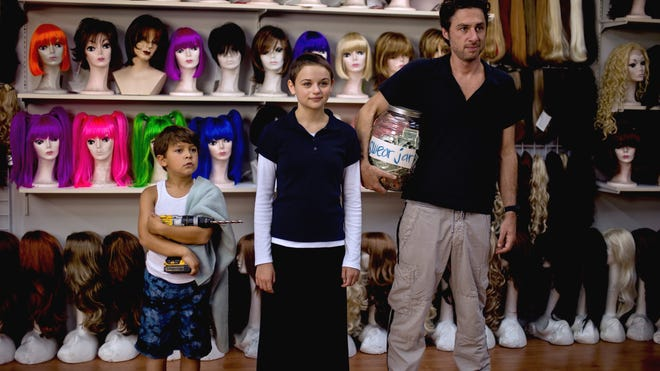 """From left, Pierce Gagnon, Joey King, and Zach Braff star in """"Wish I Was Here."""""""