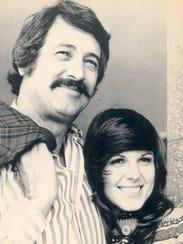 "Rock Hudson and Susan Saint James in ""MacMillan and"