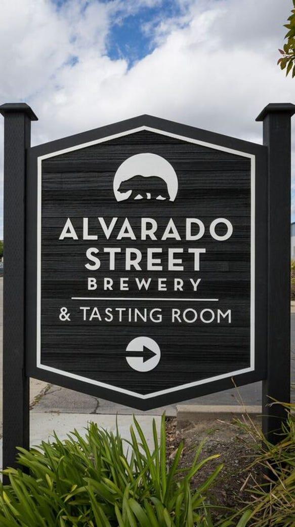 The new Alvarado Street Brewery & Grill's production