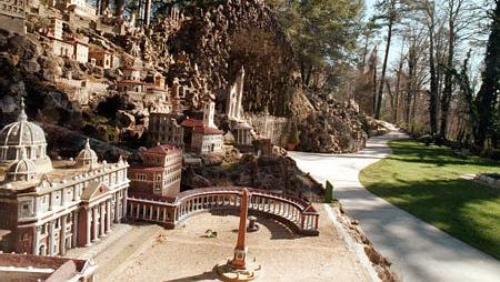 Ave Maria Grotto in Cullman. Photo by Amanda Shavers/The Cullman Times