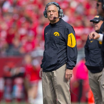 Iowa ranked under Kirk Ferentz for first time since