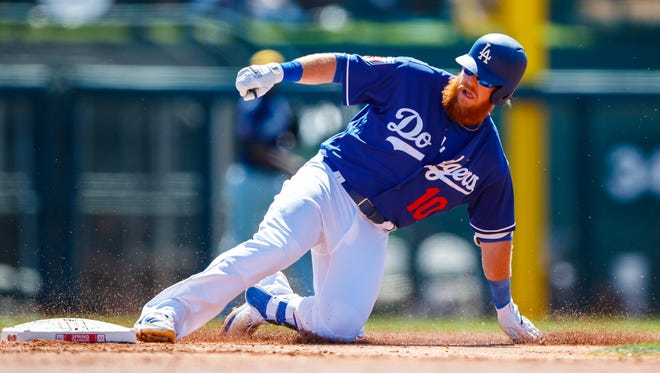 Dodgers third baseman is the latest to be added to the list of walking wounded as opening day approaches. He's out 6-8 weeks with a broken wrist.