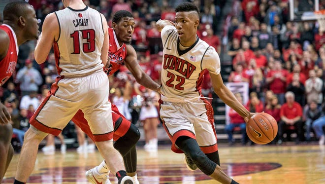 Patrick McCaw and his teammates on the UNLV men's basketball team have lost three of their past four games after a 10-2 start to the season. The Rebels visit CSU on Wednesday night.