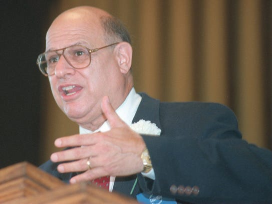 Rev. Dr. Tony Campolo, pictured in 2001 in Ocean Grove,