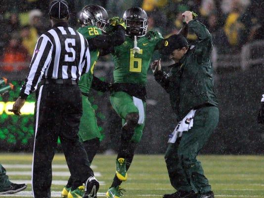 Oregon's De'Anthony Thomas confirms ankle injury