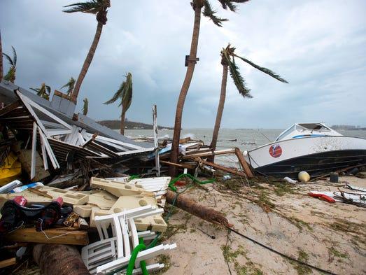 El temible huracán Irma dejó al menos 10 muertos y