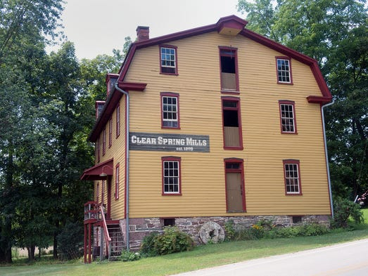 Historic mill may have been plundered by confederate troops for Mill log