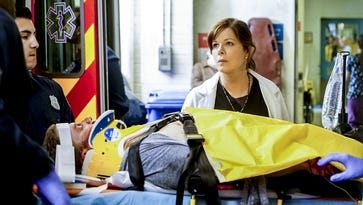 Marcia Gay Harden plays an emergency-room doctor in the CBS drama, 'Code Black.'