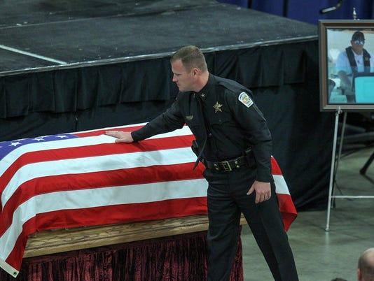 ACSO deputy funeral