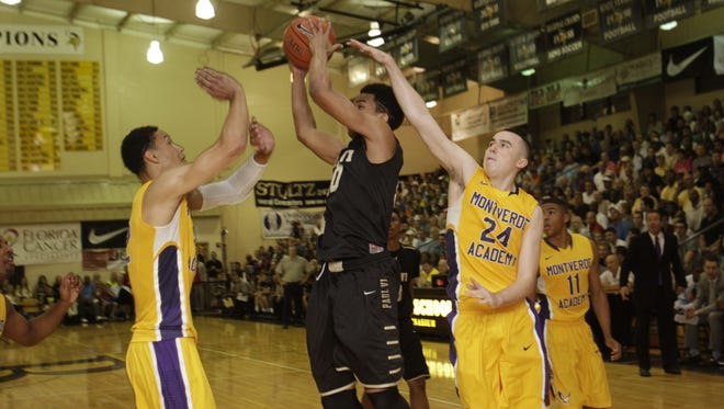Montverde won the City of Palms championship 58-53 over the Paul VI Panthers last year.