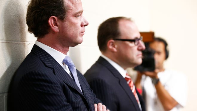 Anthony LeBlanc (right) will remain the Coyotes' CEO and President.