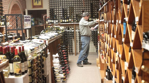 Tonore's Wine Cellar in Monroe. Though intimidating to some, myself included, wine shops  offer a way to find good wine at a good price.