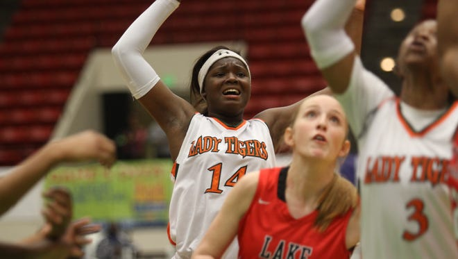 Dunbar's Ja'Miah Bland had an outstanding freshmen season an figures to take on more of the scoring load this season for the Tigers.