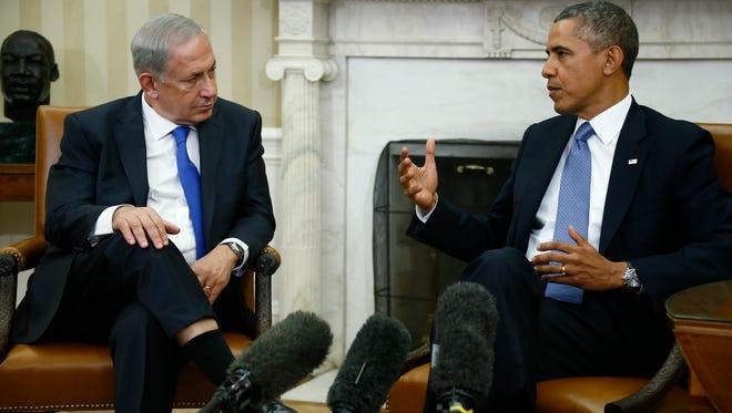 President Obama and Israeli Prime Minister Benjamin Netanyahu in 2013.
