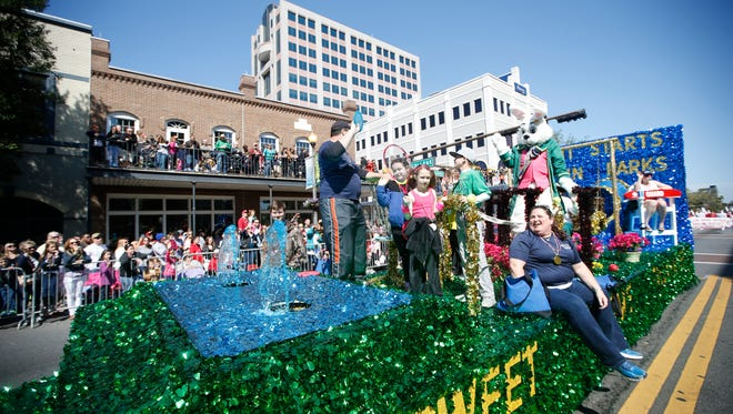 Sights from the Tallahassee Springtime Parade Saturday March 28, 2015.