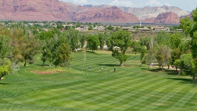 The Sunbrook Golf Club, April 22, 2015.