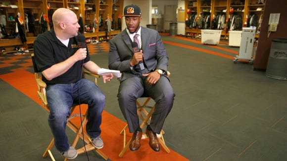 Enquirer Bengals beat writer Paul Dehner Jr. sits down for a one-on-one interview with offensive lineman Cedric Ogbuehi on Friday.