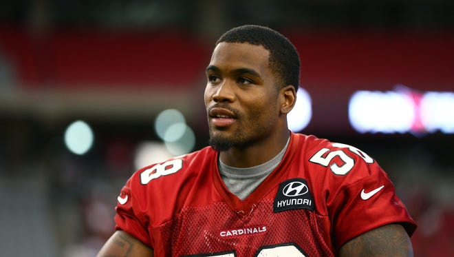 Arizona Cardinals linebacker Daryl Washington.