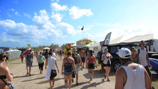 Mancheter, Tenn., plays host to the Bonnaroo Arts and Music Festival every June.