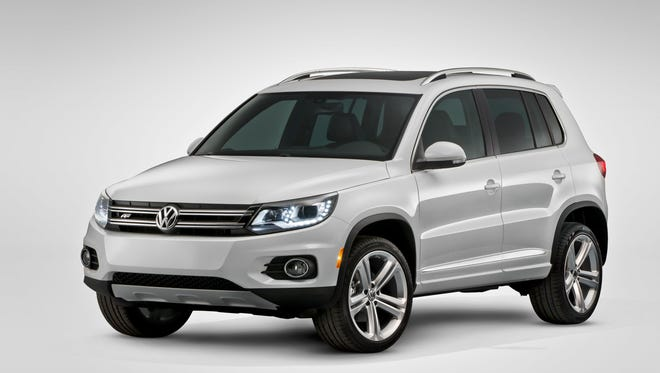 Volkswagen Tiguan is one of the models included in the air bag recall