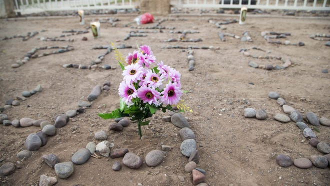 A Phoenix man is searching for answers Thursday, Aug, 27, 2015, after returning home and finding his dogs were shot and killed by police.