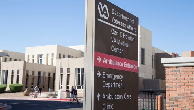 Phoenix VA hospital officials reported finding higher-than-normal levels of bacteria on Friday, Aug. 28, 2015.