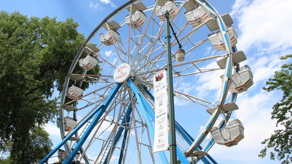 The Ferris wheel at Arnold's Park.