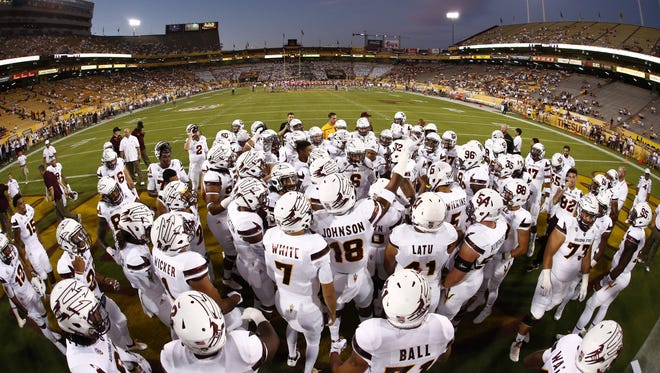 Arizona State had its final full practice before Saturday's Pac-12 opener against No. 19 USC.