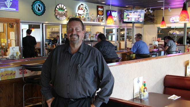 Lance Case is district manager and one of the partners in Full Monty's Bistro and Taphouse, a new restaurant and taphouse in Keizer that had its soft opening on Sept. 30, 2015.