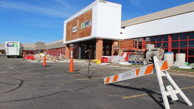 Cedar Creek Mall is currently undergoing renovations. Photo taken Oct. 7, 2015.
