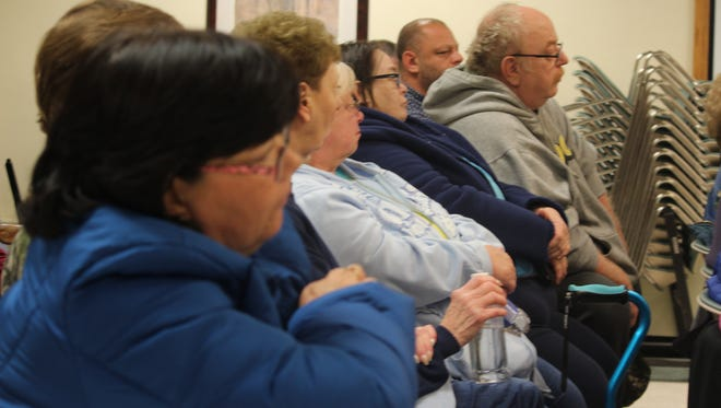 The City Council's meeting on whether to sell Edgewater Manor or fund repairs to the building drew a standing-room only crowd.