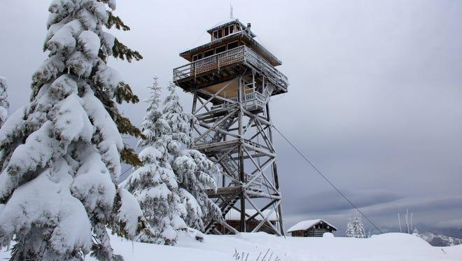 Warner Mountain Lookout.