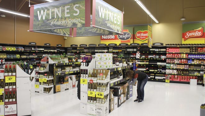Grocery Outlet's wine sale runs Nov. 4-10, and customers can get an additional 20 percent off wines.