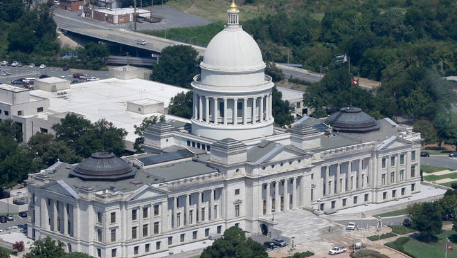 The Arkansas state Capitol is in Little Rock.