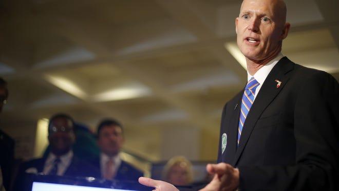 Gov. Rick Scott Thursday proposed a $1 billion tax cut.
