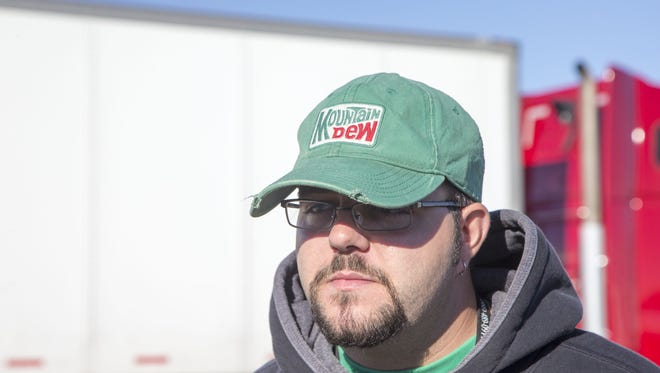 Kyle Coulter, 28, is training to drive for Knight Transportation Inc. in Phoenix, Az., on Nov. 18, 2015. The trucking industry has thousands of jobs nationally, including several hundred in metro Phoenix, that it is unable to fill.