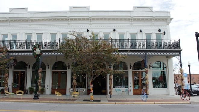 The Artisan Building opened last year at 400 S. Palafox Street and offers several new local shops for the downtown area.